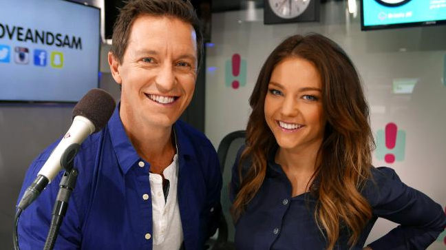 Rove & Sam replaced her breakfast show. Source: 2Day FM