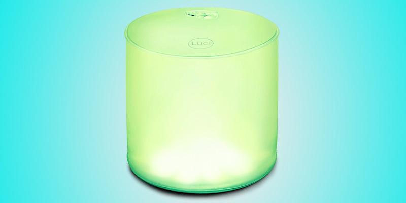 A waterproof outdoor light that is collapsible, solar-powered, and projects eight different colors? We never knew we needed such a thing! Light up the pool for a party, or set the mood for an outdoor dinner with this versatile inflatable contraption. SHOP NOW: Multi-color inflatable solar light by MPOWERD, $22, amazon.com