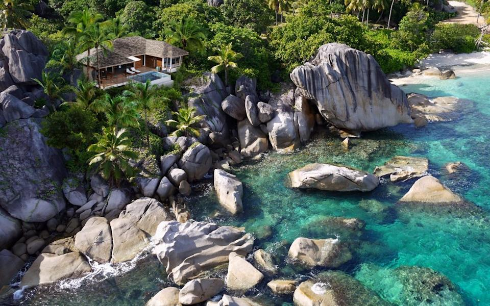 Six Senses Zil Pasyon in the Seychelles