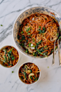 "<p>This recipe just needs a box of spaghetti, ground beef, condiments, and 15 minutes, but it had us at the word ""lazy.""</p><p><em><a href=""http://thewoksoflife.com/2016/04/15-minute-lazy-noodles/"" rel=""nofollow noopener"" target=""_blank"" data-ylk=""slk:Get the recipe from Woks of Life »"" class=""link rapid-noclick-resp""><span class=""redactor-invisible-space"">Get the recipe from Woks of Life »</span></a></em></p>"