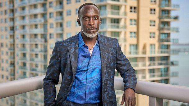 PHOTO: Actor Michael K. Williams poses for a portrait on March 31, 2021, in Miami. (Rodrigo Varela/Getty Images)