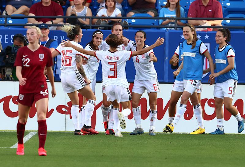 Soccer: She Believes Cup Women's Soccer-Spain at England