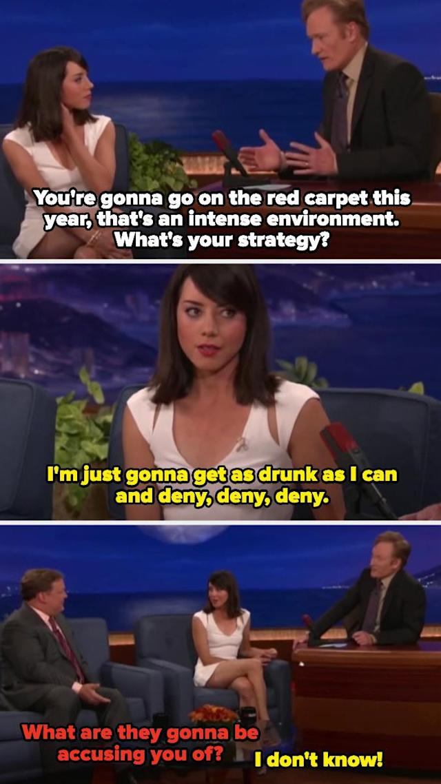 Aubrey Plaza Hilariously Pranked Her Costar Elizabeth Olsen, And 17 Other Aubrey Moments I Can't Stop Laughing At