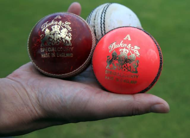 The Dukes balls are hand-stitched (Nick Potts/PA)