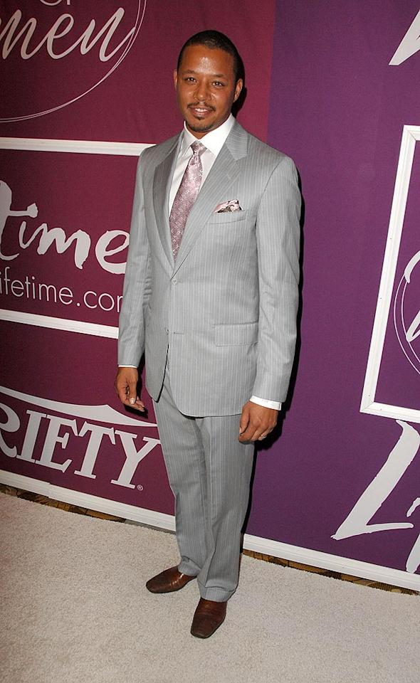 """""""Hustle & Flow"""" star Terrence Howard made an appearance to give props to Hollywood's most powerful female players. Steve Granitz/<a href=""""http://www.wireimage.com"""" target=""""new"""">WireImage.com</a> - September 24, 2009"""