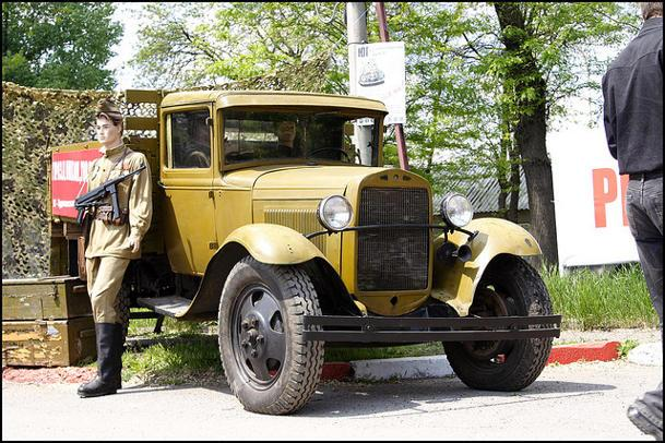1931 GAZ AA, based on Ford's Model A truck