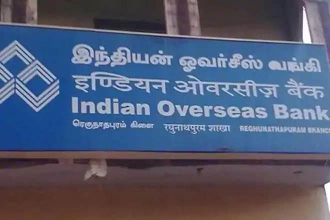 indian overseas bank, banking sector
