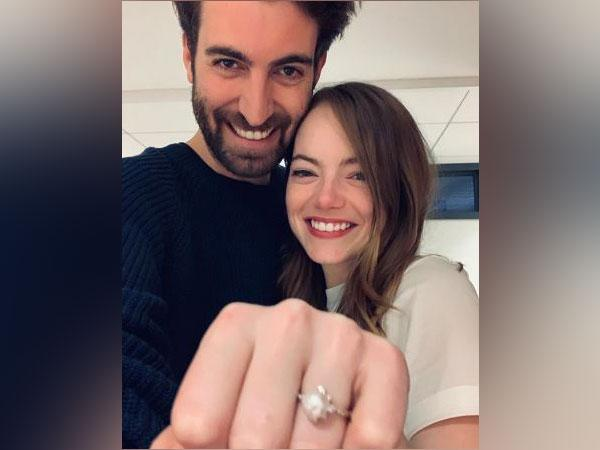 Emma Stone and Dave McCary (Image source: Instagram)