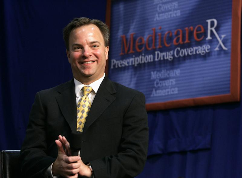 """FILE - In this June 17, 2005 file photo, Mark McClellan is seen in Maple Grove, Minn. The glitch-ridden rollout of President Barack Obama's health care law has opponents crowing: """"Told you so!"""" and insisting it should be paused, if not scrapped. But others, including insurance companies, say there's still enough time to fix the online enrollment system before uninsured Americans start getting coverage on Jan. 1. McClellan, who ran Medicare during the prescription program rollout in 2006, said that during that time he had detailed daily tracking stats, and he's sure the Obama administration must have at least the same level of information. (AP Photo/Charles Dharapak, File)"""