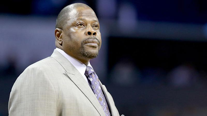 Pictured here, New York Knicks legend Patrick Ewing.
