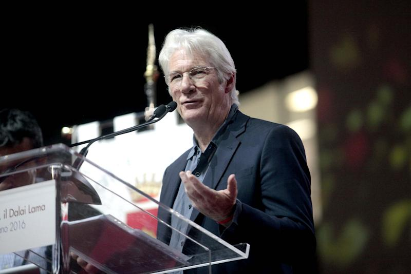 Richard Gere, an outspoken advocate of freedom for Tibet (credit: WENN)