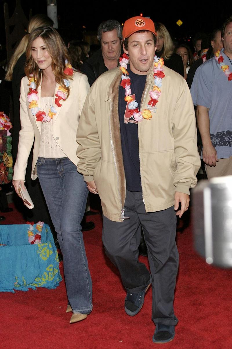 The Story of How Adam Sandler Met His Wife Will Actually