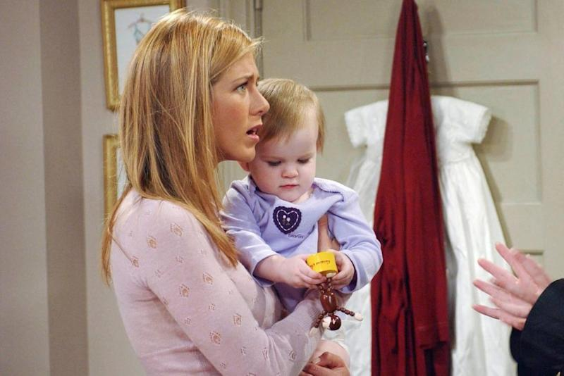 'Friends' Baby Actor Noelle Sheldon Reacts to Chandler's 2020 Joke!