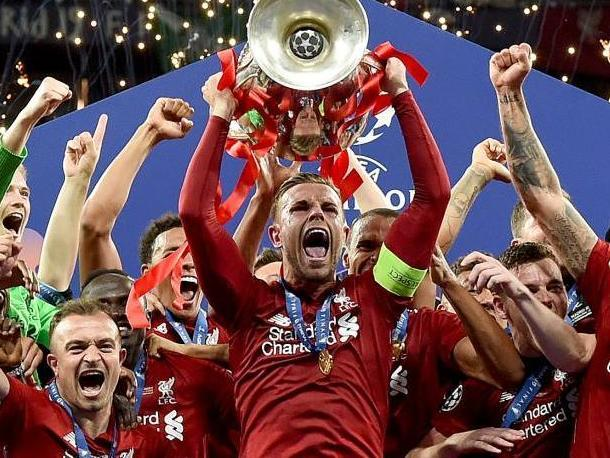 Liverpool lift the Champions League: Getty