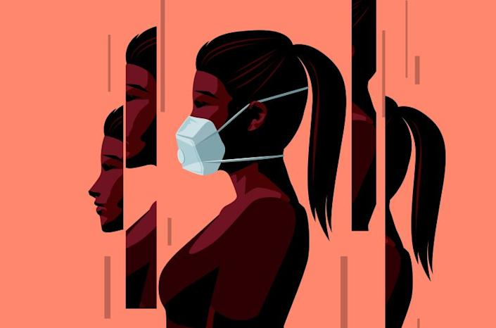 The socio-economic impact of the coronavirus also left many women in sustained isolation — without jobs and with increased domestic responsibility.