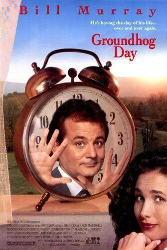 "<p>Weatherman Phil (<span class=""itemprop"">Bill Murray</span>) finds himself living the minor holiday over and over again in what starts out as a frustrating nightmare. But once he starts falling for Rita (<span class=""itemprop"">Andie MacDowell</span>), he realizes his seeming immortality can help him win her over. What follows is lots of trial and error — and some personal growth too.</p><p><a class=""link rapid-noclick-resp"" href=""https://www.amazon.com/dp/B000SP1SH6?ref=sr_1_1_acs_kn_imdb_pa_dp&qid=1544048981&sr=1-1-acs&autoplay=0&tag=syn-yahoo-20&ascsubtag=%5Bartid%7C10055.g.3243%5Bsrc%7Cyahoo-us"" rel=""nofollow noopener"" target=""_blank"" data-ylk=""slk:STREAM NOW"">STREAM NOW</a></p>"