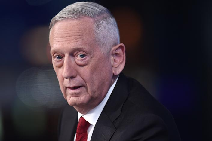 Former U.S. Secretary of Defense James Mattis visits FOX News Channel's