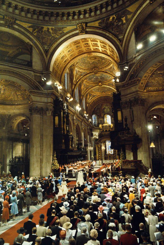 <p>St. Paul's Cathedral made for a stunning venue for the ceremony.</p>