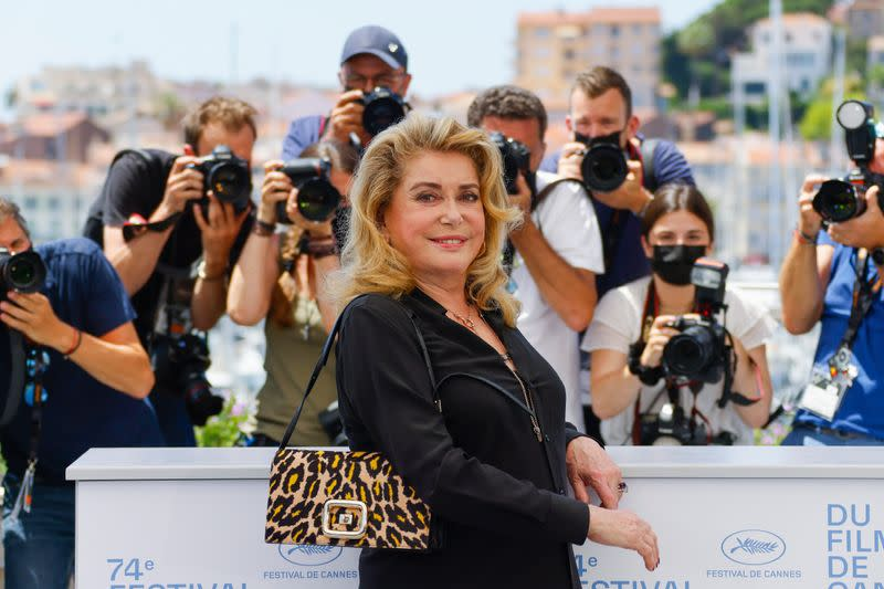 """The 74th Cannes Film Festival - Photocall for the film """"De son vivant"""" Out of Competition"""