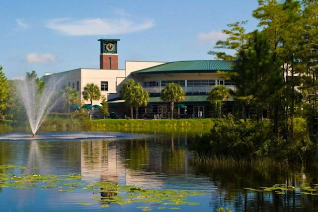 The Cohen Center is the community hub for the entire Florida Gulf Coast University campus.