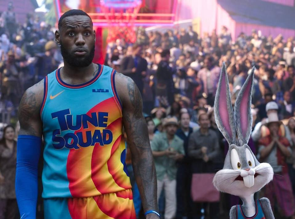 Space Jam: A New Legacy, LeBron James, Bugs Bunny
