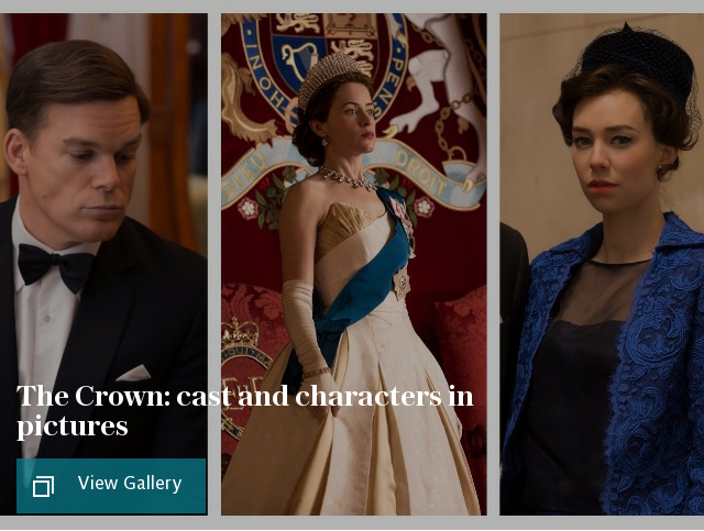The Crown cast and characters