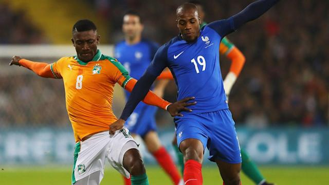 France Ivory Coast Djibril Sidibe Salomon Kalou Friendly 15112016