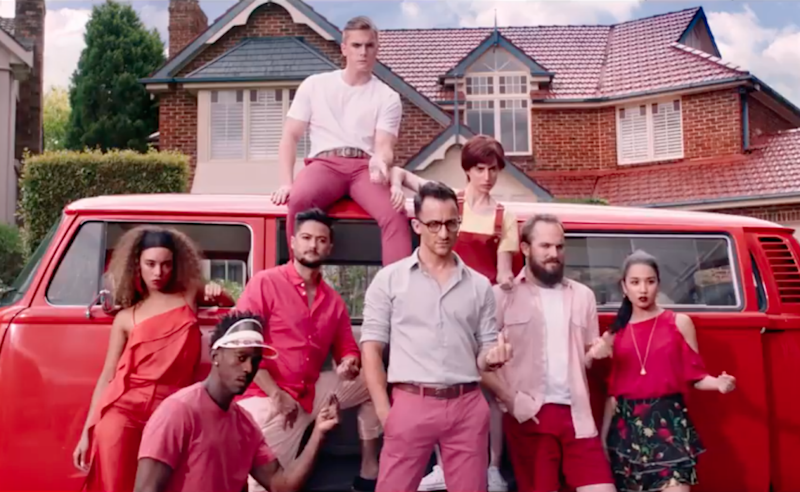Here is the Left singing a tune in red. Photo: Meat & Livestock Aus