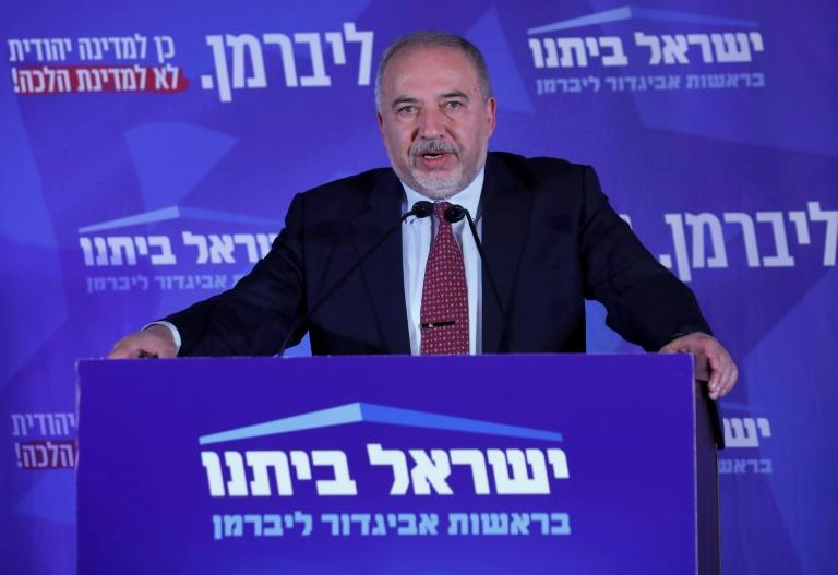 Secularist Avigdor Lieberman's refusal to join Netanyahu's coalition after April polls forced the veteran premier to seek a new election or face a rival becoming prime minister (AFP Photo/JALAA MAREY)