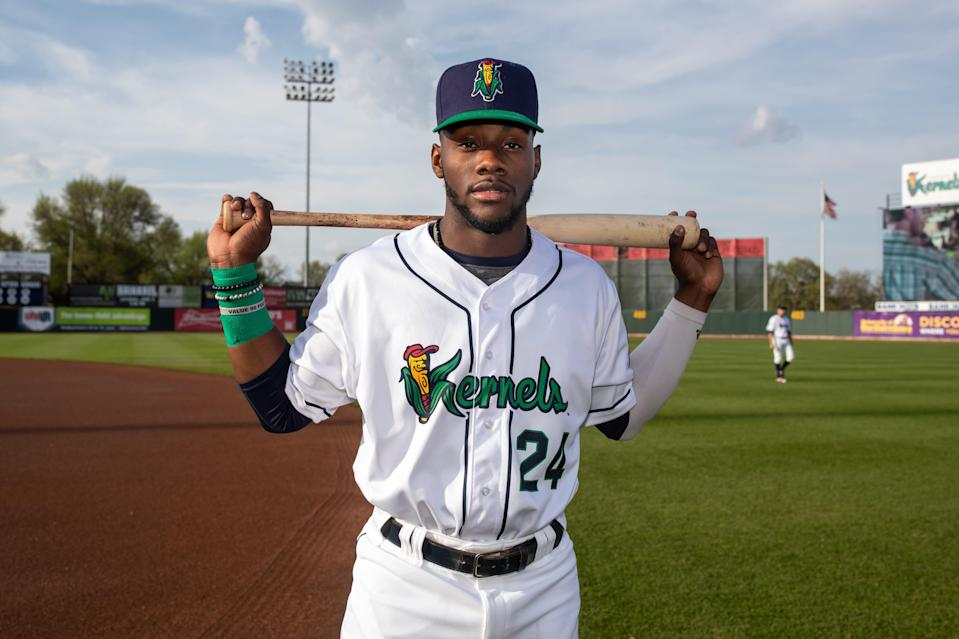 The Detroit Tigers selected outfielder Akil Baddoo from the Minnesota Twins with the No. 3 pick in the 2020 Rule 5 draft.