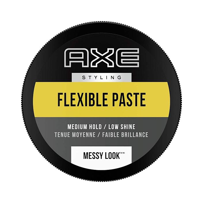 """<p><strong>Axe</strong></p><p>walmart.com</p><p><strong>$11.70</strong></p><p><a href=""""https://go.redirectingat.com?id=74968X1596630&url=https%3A%2F%2Fwww.walmart.com%2Fip%2F212976540%3Fselected%3Dtrue&sref=https%3A%2F%2Fwww.menshealth.com%2Fgrooming%2Fg37755109%2Fhair-paste-for-men%2F"""" rel=""""nofollow noopener"""" target=""""_blank"""" data-ylk=""""slk:BUY IT HERE"""" class=""""link rapid-noclick-resp"""">BUY IT HERE</a></p><p>If you haven't realized by now that the point of using a paste is texture, let us remind you one more time: if you want texture, use a paste. This version is specifically designed to give you bedhead messiness that actually looks good and stays in place all day.</p>"""