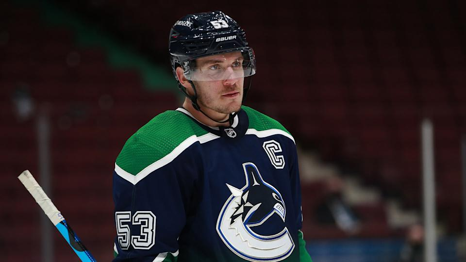 Bet against the Canucks when they wear their Reverse Retro jerseys. (Photo by Devin Manky/Icon Sportswire via Getty Images)