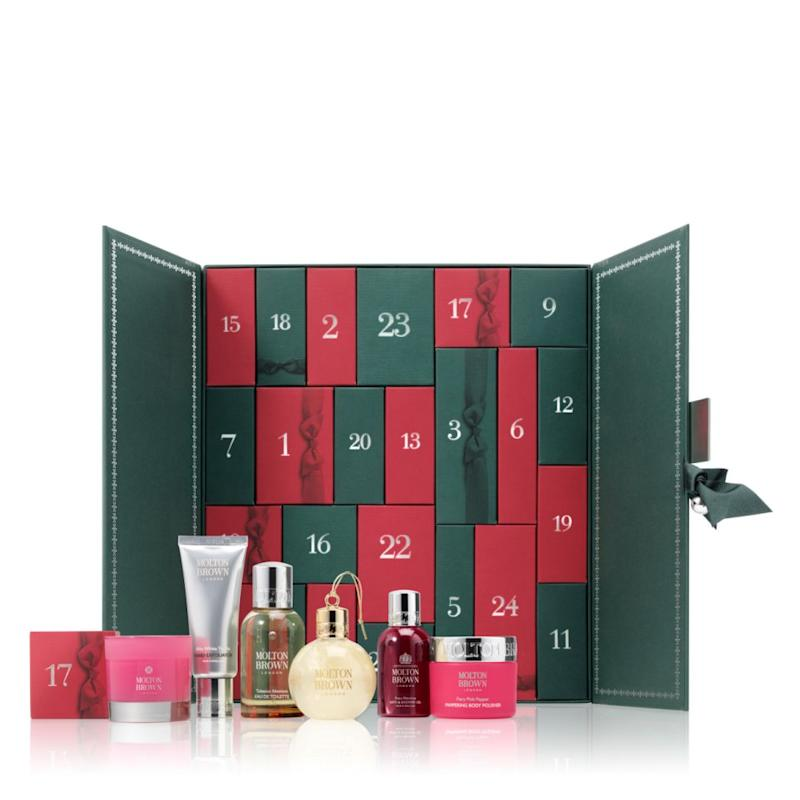 Molton Brown's advent calendar is a beauty junkie's fantasy. Source: Molton Brown