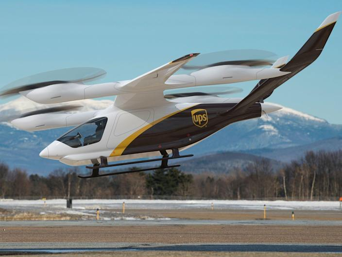 Beta Technologies eVTOL UPS