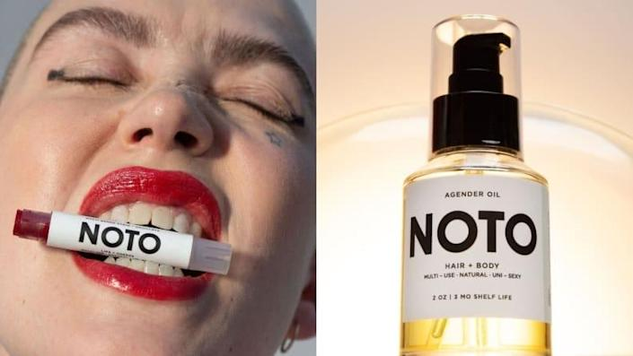This multi-use, gender-fluid cosmetic line is focused on giving back to the community.