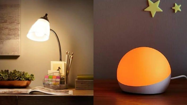 You'll want to bring your own lighting to give your eyes a break and create a chill ambiance.