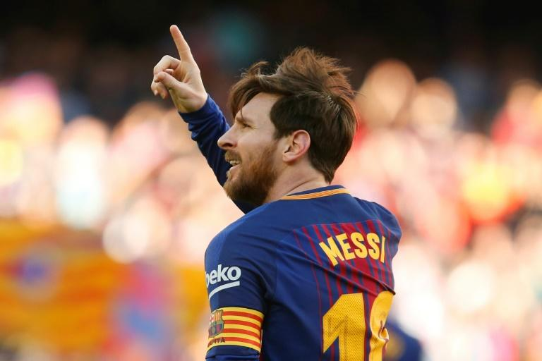 Masterful Lionel Messi helped create one goal and scored the other as Barcelona beat Athletic Bilbao