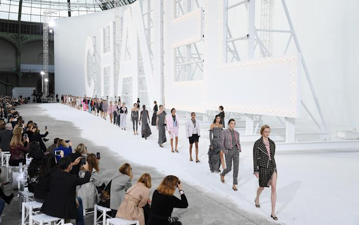 The fashion brand is launching a new podcast called Chanel Connects. (Getty Images)