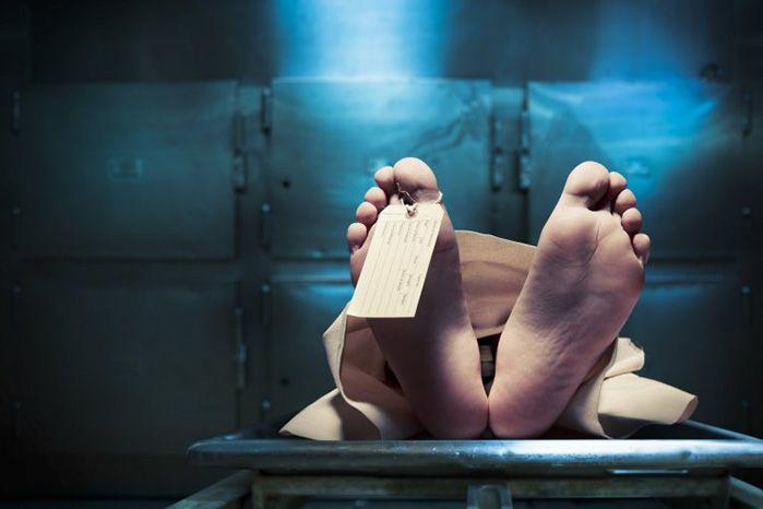 There's normal hangovers, then there's waking up in a morgue hangovers. Source: Shutterstock
