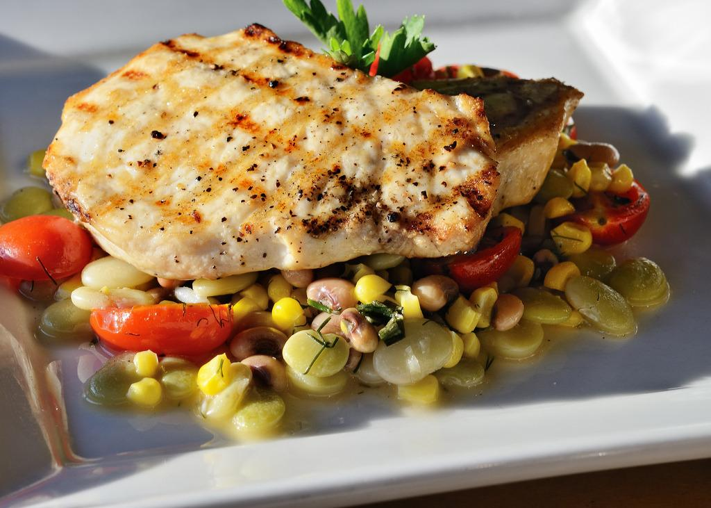 <p>Swordfish, who'da thunk? You're probably not eating an abundance of swordfish as it is, but it is worth knowing that you should definitely avoid it when pregnant. Swordfish is high in heavy metals that can be harmful to children as they develop in the womb. [Ralph Daily/Flickr]</p>