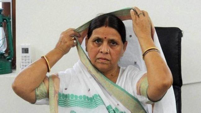 While addressing an election rally in Bihar, former Bihar chief minister Rabri Devi defended Rajballabh Yadav saying false charges were framed against him. Rabri Devi asked people to vote for his wife Vibha Devi.