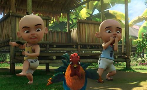 Local animated TV series and movies starring Upin and Ipin are famous not only in Malaysia.