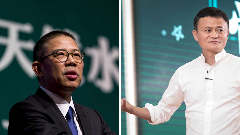 Zhong Shanshan is China's richest man now, surpassing Alibaba's Jack Ma. Source: CNN/Getty