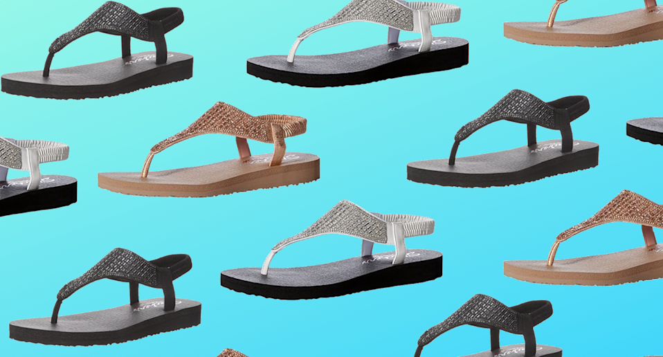 Shoppers say that these Skechers sandals are