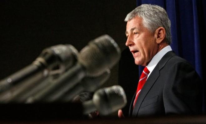 """I think the Pentagon needs to be pared down,"" Hagel, the nominee to head the Pentagon, once said."