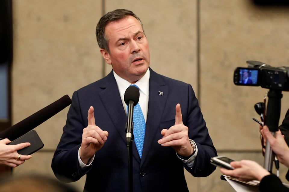 Alberta Premier Jason Kenney recently decoupled some disability benefits from inflation. (Photo: Blair Gable / Reuters)