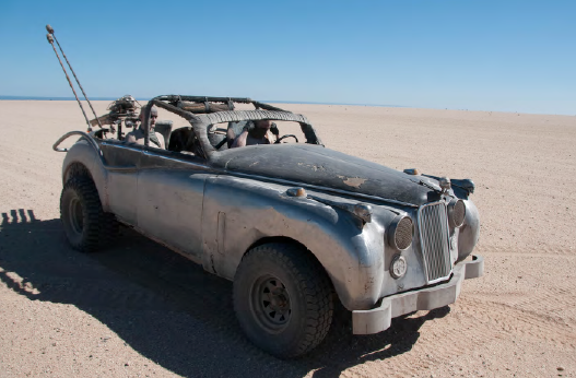 CONVOY CAR: JAG FLAMER from Mad Max Fury Road