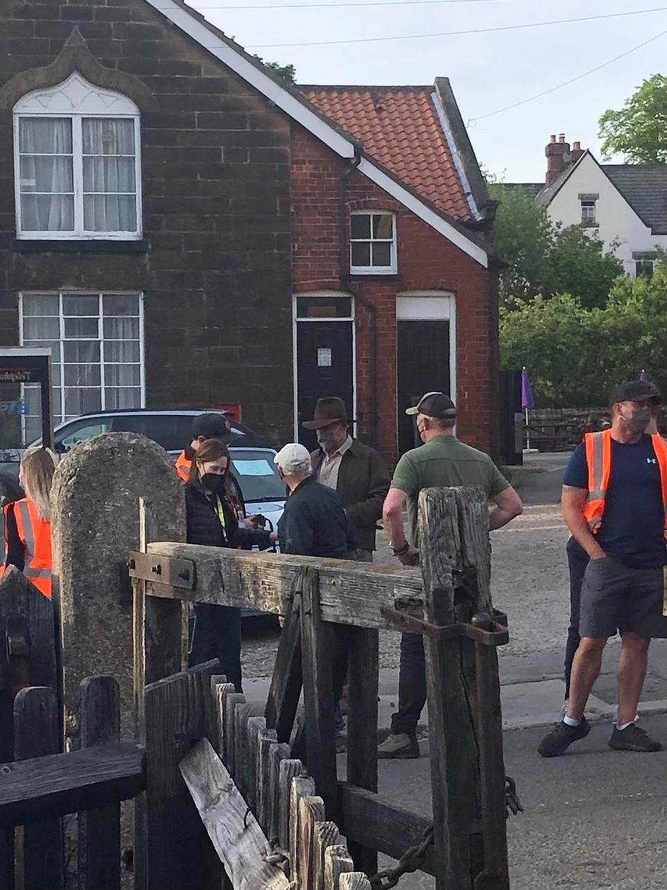 Harrison Ford was spotted filming in North Yorkshire (North Yorkshire County Council/PA)