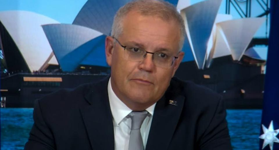 Scott Morrison tuning in at global summit on climate-change hosted by Joe Biden