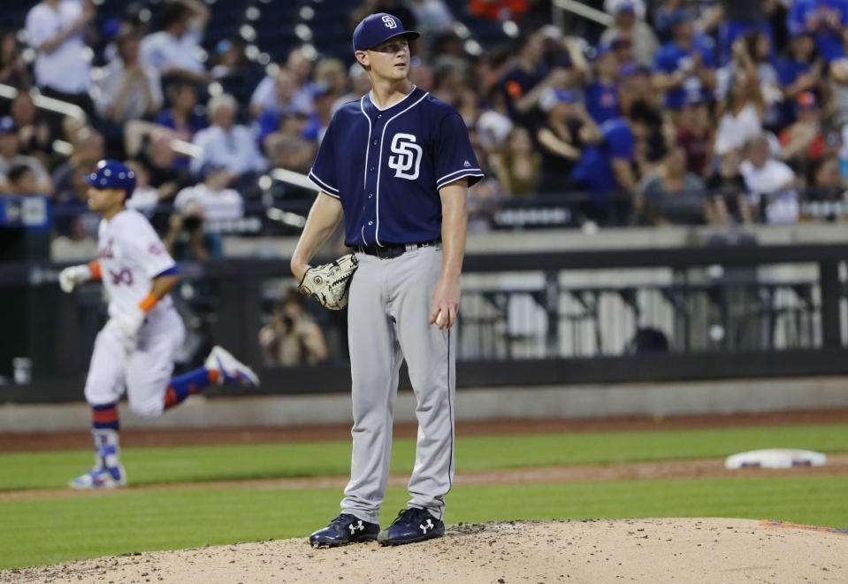 The Padres' new ticket plan could backfire in a big way. (AP Photo/Frank Franklin II)